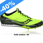 SAUCONY -  VELOCITY SPIKE 4 DISTANCE